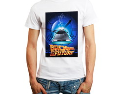 Camiseta Back To The Future De Volta Para O Futuro Oferta
