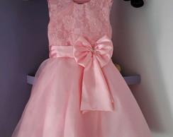 Vestido De Princesa Rosa Elo7