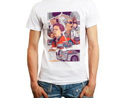 Camiseta De Volta Para O Futuro Back To The Future Oferta