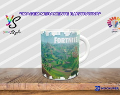 Caneca Game Fortnite Skin Tower Recon Specialist