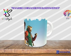 Caneca Game Fortnite Personagens