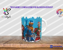 Caneca Game Fortnite Survive The Holidays