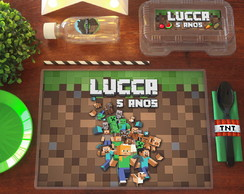 Kit Festa Escolar MINECRAFT