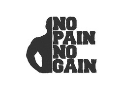 Matriz de bordado - No Pain no Gain