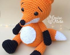Amigurumi - Raposa - Receita Grátis | Modelo de bebê de crochê ... | 194x244