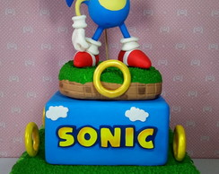 Bolo Fake de Biscuit Sonic