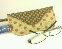 9900b62d0 Capa estojo case para Óculos de grau em tecido - Chadon no Elo7 ...