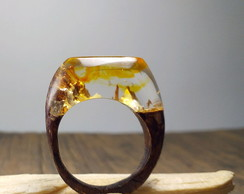 Anel Floresta Secreta - Secret Wood Ring