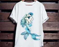 Camiseta Casal Mermaid