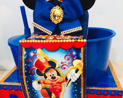 Kit cinema circo do mickey luxo