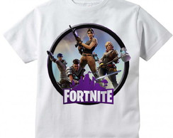 Camiseta Infantil Fortnite