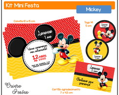 Kit Mini Festa - Mickey