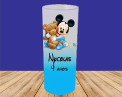 COPO LONG DRINK MICKEY BABY JATEADO DEGRADÊ