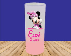 COPO LONG DRINK MINIE ROSA JATEADO DEGRADÊ