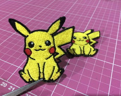 PATCH BORDADO PIKACHU TERMOCOLANTE