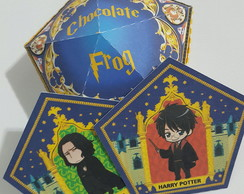 Caixa Sapo chocolate harry potter