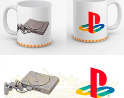 Caneca Promocional Playstation One Ps1 Do Ovo Playstation