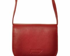 5c9273385 Bolsa Feminina Couro Legítimo Transversal Elegante Vermelha no Elo7 ...
