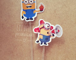 Topper para doces Minions