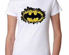 Camiseta Feminina do Batman- Moda Geek