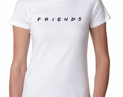 Camiseta Feminina FRIENDS - Moda Geek