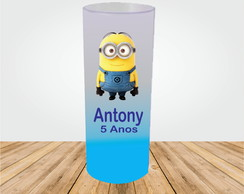 COPO LONG DRINK MINIONS JATEADO DEGRADÊ