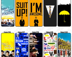 Capa Celular How I Met Your Mother Ted Guarda Chuva Amarelo