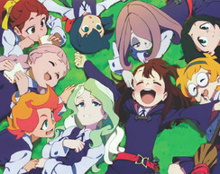 Painel Festa lona decorativo Little Witch Academia