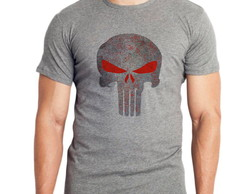 Camiseta do Justiceiro - Moda Geek