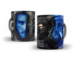 Caneca Game of Thrones -Jon Snow