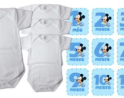 Kit Mesversario Mickey Baby