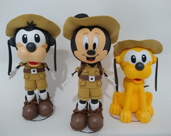 Turma Do Mickey Safari Em Eva 3d - A2 Kit-3