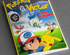 Revistinha de colorir POKEMON