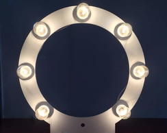 Ring Light MDF 8 / 10 bocais. Cores opcionais.