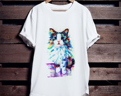 Camiseta Mystical Cat 2 (Gato Místico)