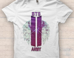 "Camiseta - ""BTS ARMY"" -"