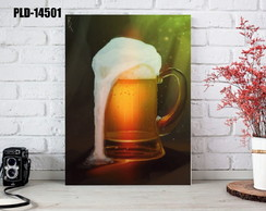 Placa Decorativa MDF 20x30cm - Chopp - FSC