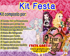 Kit Rótulos Festa Ever After High