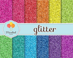 Papel Digital - Glitter (brilhante)