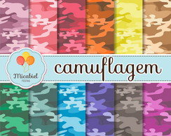 Papel Digital - Camuflagem
