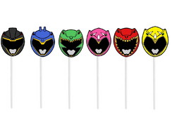 Toppers Power Rangers