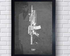 Quadro Poster Scarface