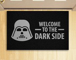 Tapete Capacho Criativo Geek Welcome Dark Side 1
