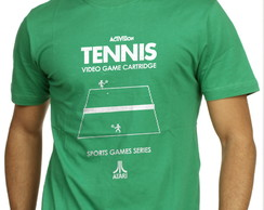 Camiseta Camisa Geek Game Jogo Tennis Atari 2600