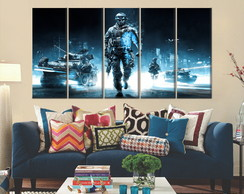 Quadro Decorativo Battlefield 140x65