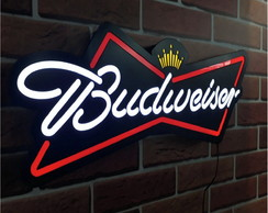 Luminoso Luminaria Budweiser Led Bar Restaurante Lanchonete