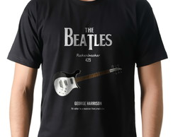 Camiseta Rock George Harrison Guitarra Rickenbacker