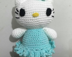 Hello Kitty de amigurumi