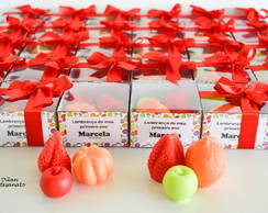 Kit mini sabonetes de frutas