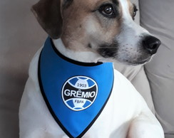 Bandana pet time Grêmio